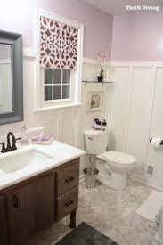 BEFORE  AFTER My Pretty Lavender Master Bathroom Makeover - Bathroom makeover