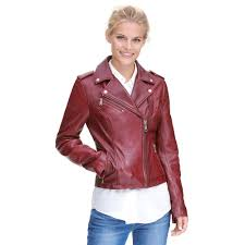 Wilsons Leather Size Chart Madeline Asymmetrical Leather Jacket Jackets Leather