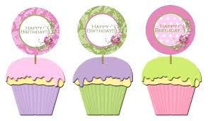 Cupcake Topper Template Gallery Images Cupcake Picks Template