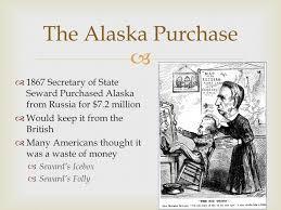 「Alaska purchase」の画像検索結果