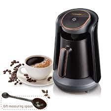 Satın Al Hediye 220V 800W Otomatik Türk Kahve Makinesi Makinesi Şarjlı  Elektrikli Cezve Food Grade Moka Kahve Kettle, TL918.69