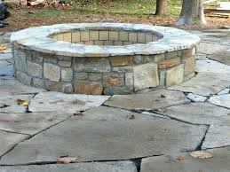 stone fire pit ideas. Natural Stone Fire Pit Pits Landscape Traditional With Flagstone . Ideas E