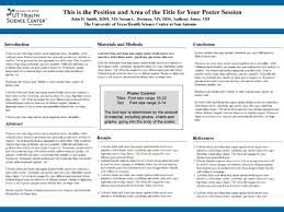 Informational Poster Sample Layout Information Management And Services Academic Technology