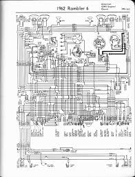 rambler wiring diagrams the old car manual project 1962 rambler american ohv engine classic