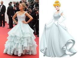 blake lively looks exactly like this disney princess at the cannes festival ogiggles
