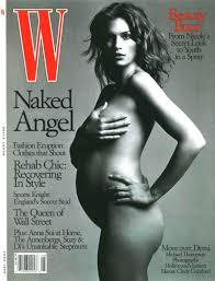 Cindy Crawford on Being Pregnant and Nude on the Cover of W Video.