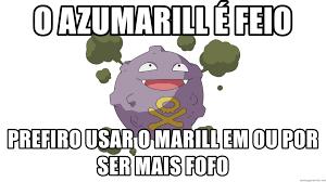 o azumarill é feio prefiro usar o marill em OU por ser mais fofo - Smogon  Pokemon