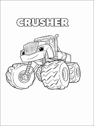 Blaze And The Monster Machine Coloring Pages Blaze Coloring Book