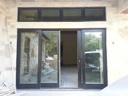 new construction residential jeld wen wood clad 4 panel sliding doors