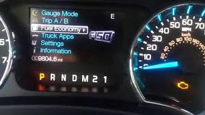 Check Engine Light 2018 Ford F150 Resetting Engine Oil Life To 100 On A 2013 F150
