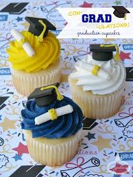Graduation Cupcakes Tutorial How To Make Graduation Cupcake Toppers