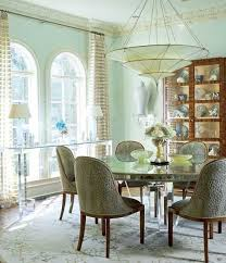 traditional home dining rooms. Gorgeous Dining Room With A Dramatic Chandelier From Odegard - Traditional Home® Home Rooms