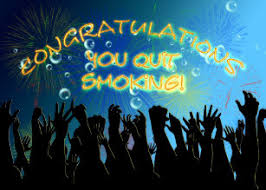 Image result for congrats for not smoking