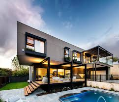 Modern Outdoor Jacuzzi Exterior Contemporary With Modern Design - Exterior residential lighting