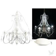 battery operated chandeliers mini led battery operated chandelier great for the playhouse battery powered crystal chandelier