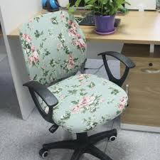 computer chair slipcover. Beautiful Slipcover Separate Style Office Spandex Chair Cover Printed Elastic Fabric Computer  Slipcover 6 Colors Easy Installation For C