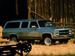 1989 Chevrolet Suburban - Information and photos - MOMENTcar