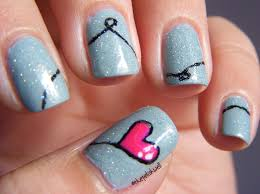 Heart Nail Art | Nail Art Designs | Nail Art Designs For Love Nails
