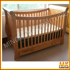 wooden baby cribs solid wood crib douxbebe multi mosaic bed bb 9
