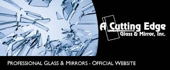a cutting edge glass mirror professional glass installation