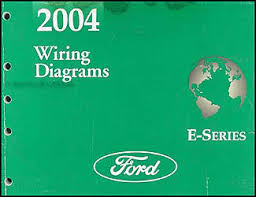 2004 ford econoline van club wagon wiring diagram manual original