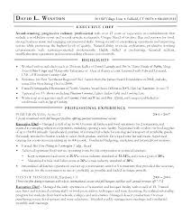 Executive Chef Resume Examples Sous Chef Resume Sample Chef Resume ...