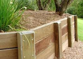 timber retaining wall cost