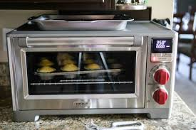 i m so excited to tell you all about this amazing new wolf gourmet countertop oven isn t it just gorgeous it s got all the features of a regularly sized