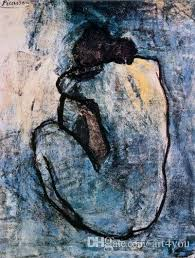 2019 Famous Blue <b>Nude</b>, C.1902 By Pablo Picasso <b>High Quality</b> ...
