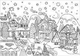 Swipe on the pencils to browse all available pallets, including gradients palettes. Christmas Coloring Pages For Adults