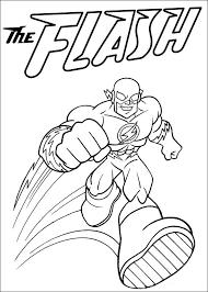 Superfriends Flash Kleurplaat Jouwkleurplaten