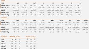 Uniqlo Clothing Size Chart