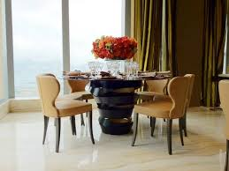 stylish high end round dining tables 10 high end dining tables