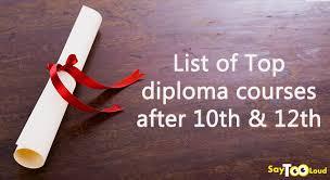top career options a list of engineering diploma courses after  top career options a list of engineering diploma courses after 10th and 12th arts
