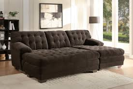 extra large microfiber tufted sofa with chaise and ottoman charcoal gray sectional lounge velvet set armless