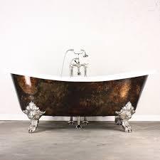 The Alexander' Cast Iron French Bateau Clawfoot Bathtub, Artist ...