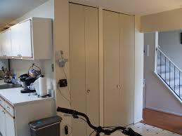 bifold doors in closet