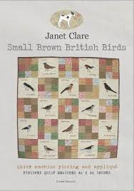 Janet Clare Counting Sheep Quilt Pattern - Poppy Patch & Janet Clare Small Brown Birds Quilt Pattern Adamdwight.com