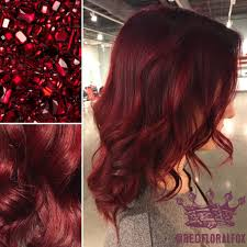 Ruby Red Hair Color By Taylor
