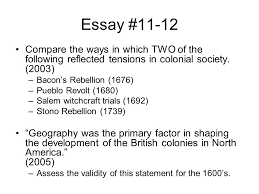essay preparation colonial american issues ppt video online  45 essay