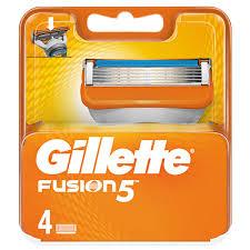 <b>Кассеты</b> для станка `<b>GILLETTE</b>` `<b>FUSION</b>` <b>4 шт</b>