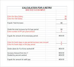 Monthly Paycheck Calculator 8 Salary Paycheck Calculator Doc Excel Pdf Free