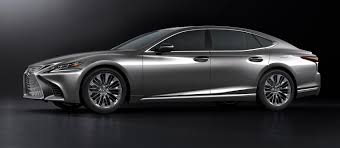 2018 lexus ls 500 white. 2018 lexus ls500 revealed in detroit with powerful new twin-turbo v6 ls 500 white