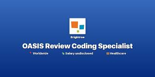 Remote Oasis Review Coding Specialist At Brightree