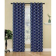 Geometric Pattern Curtains Delectable Geometric Pattern Curtains Amazon