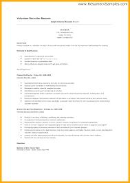 Volunteer Work Resume Examples Resume Template For Volunteer Work Atlasapp Co
