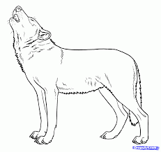 How To Draw Howling Wolves Howling