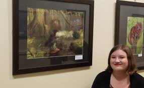 TCPS Student Artwork Showcased at First Lady Yumi Hogan's Student Exhibition