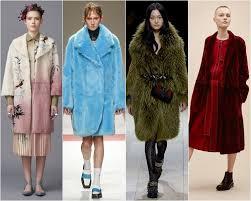 fur coats fashion trends fall winter 2016 2017