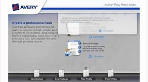 Avery Address Lables Avery Easy Peel Address Labels Demo Video Youtube